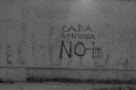No + Fotografía de Lotty Rosenfeld